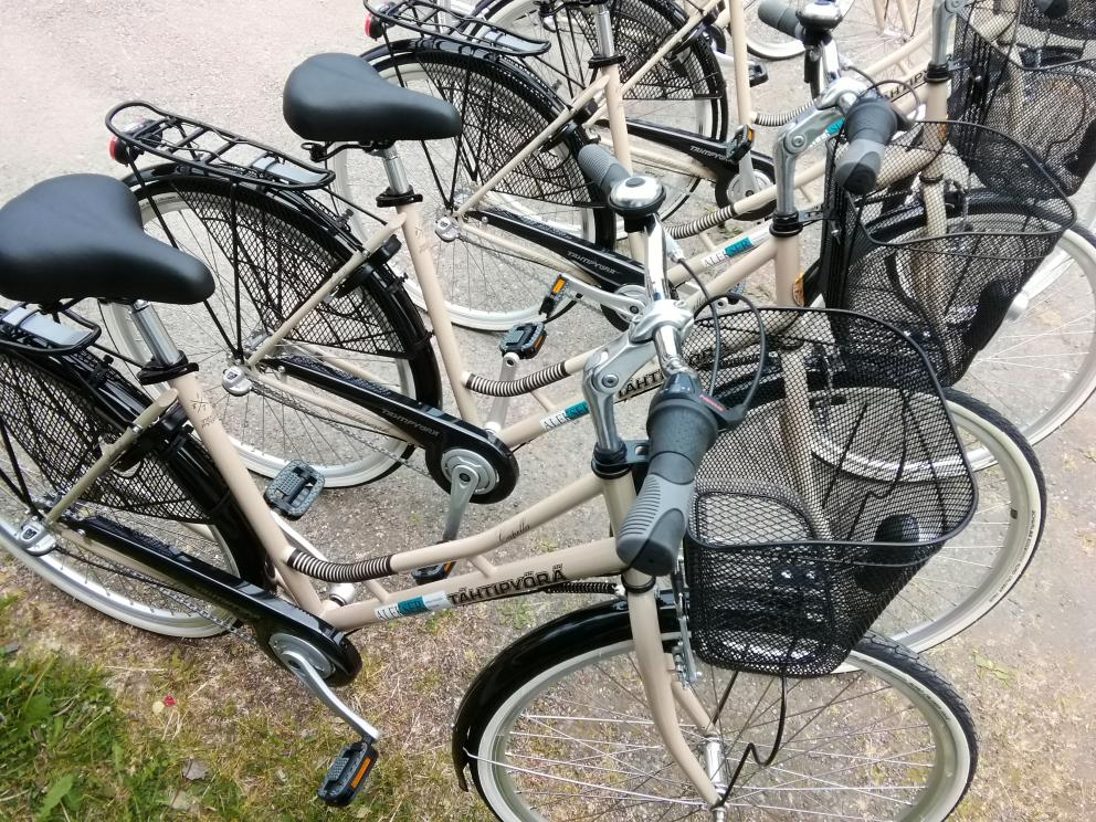 Cykeluthyrning Peede