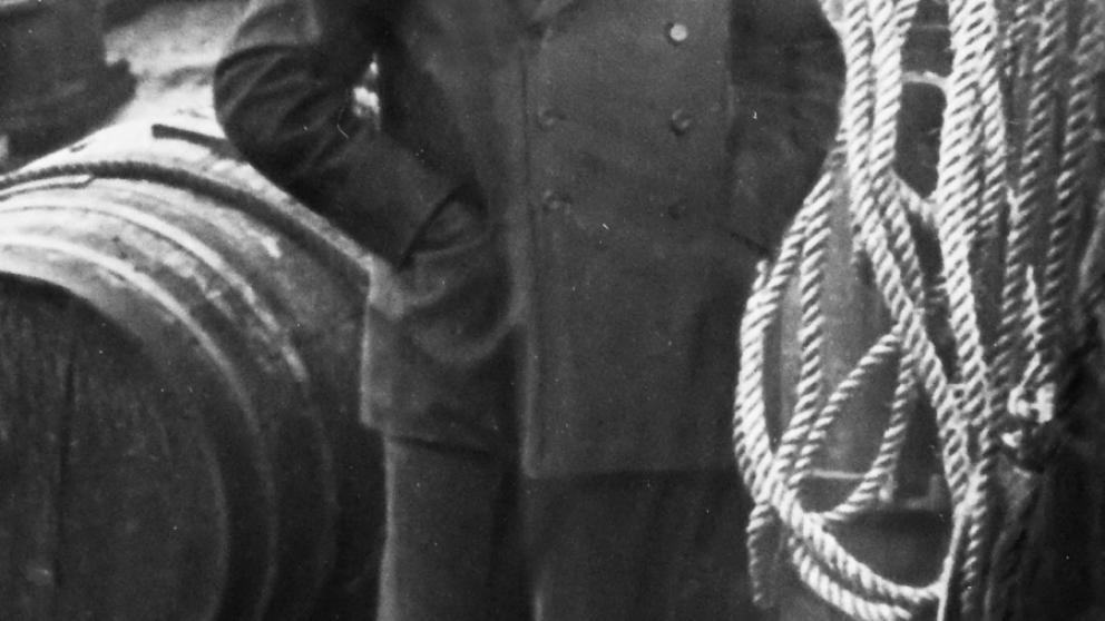 Axel Sjöblom tidigt i karriären.